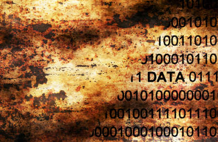 metadata: Web data grunge concept Stock Photo