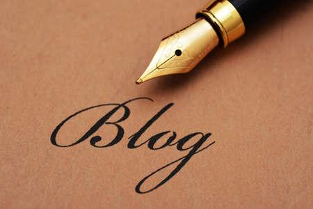 블로그 텍스트에 만년필