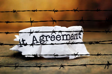 barbwire: Agreement against barbwire