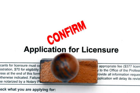 licence: Application for licence