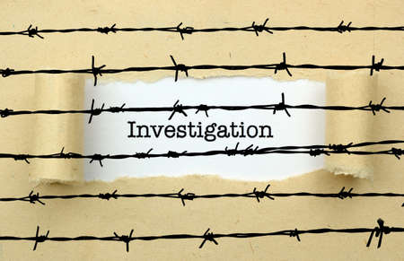 barbwire: Investigation text against barbwire
