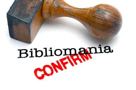 bibliomania: Bibliomania confirm