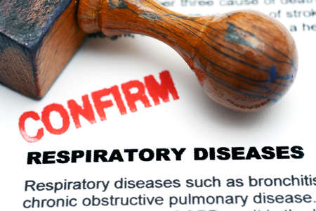 emphysema: Respiratory disease Stock Photo