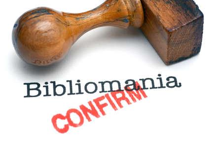 confirm: Bibliomania confirm