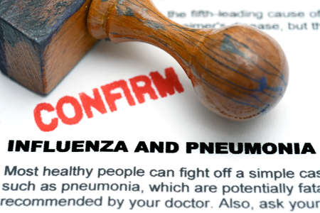 influenza: Influenza and pneumonia