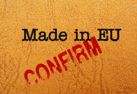eu: Made in EU cofirm