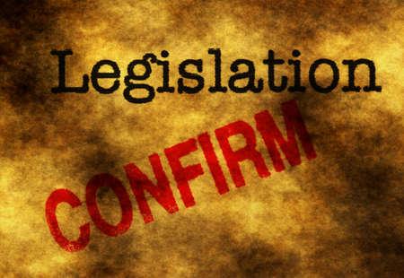 legislation: Legislation confirm