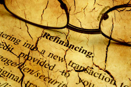 refinancing: Refinancing cracked form