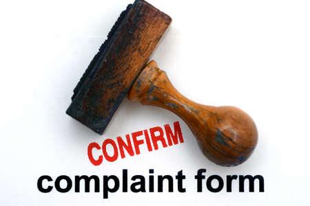 complain: Complain form confirm