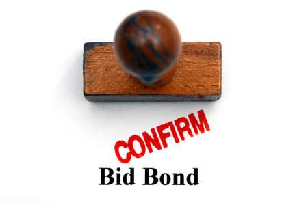 confirm: Bid bond confirm