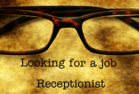 looking for a job: Looking for a job - receptionist