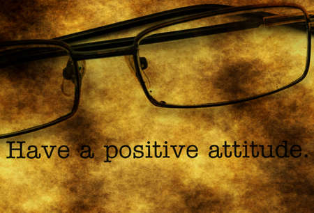 actitud: Tener una actitud positiva
