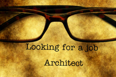 looking for a job: Looking for a job - Architect