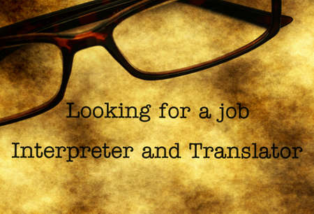 Interpreter and translation job