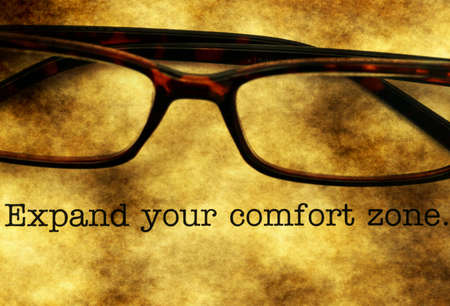 your: Expand your comfort zone