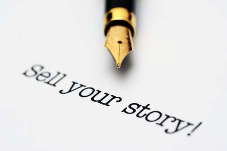 sell: Sell your story concept