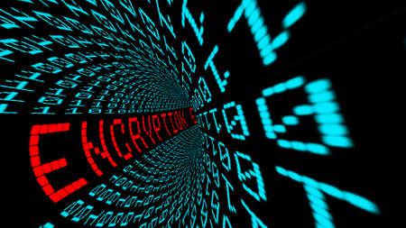 Encryption in matrix tunnel