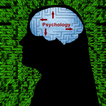 paranoid: Psychology in mind concept