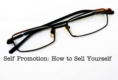 yourself: How to promote yourself Stock Photo