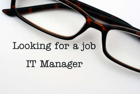 looking for a job: Looking for a job IT Manager