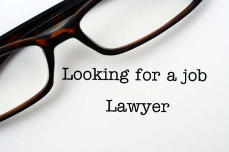looking for a job: Looking for a job Lawyer