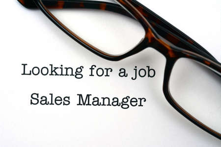 sales manager: Looking for a job sales manager
