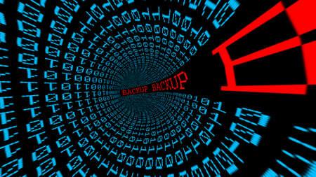 backup: Backup data tunnel