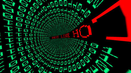 hot line: Hot line data tunnel