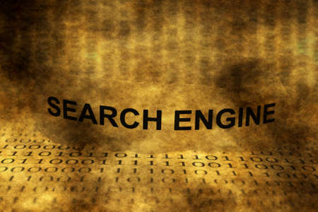 searchengine: Search engine grunge concept