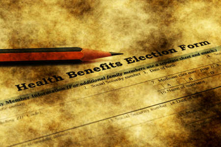 hmo: Health benefits election form