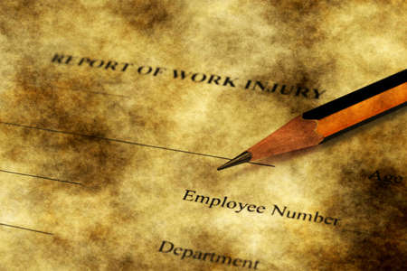 sue: Report of work injury form