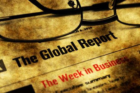 swaps: Global report week in business Stock Photo