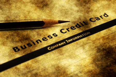 credit report: Business credit card application