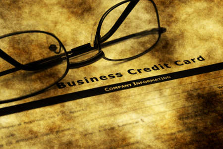 business credit application: Business credit card application