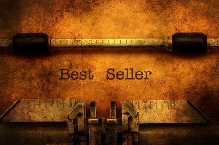 seller: Best seller grunge concept