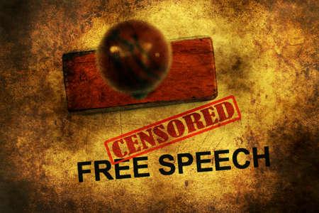censored: Free speech censored