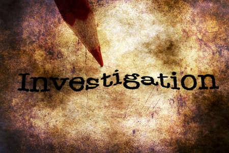 investigaci�n: L�piz en el texto de la investigaci�n