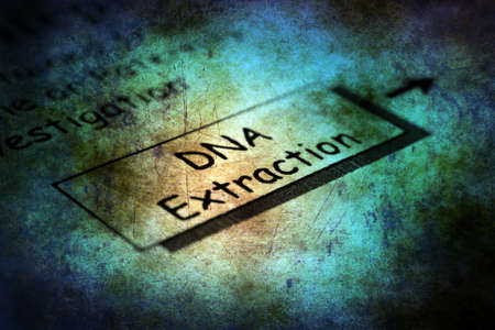 extraction: Dna extraction grunge concept Stock Photo