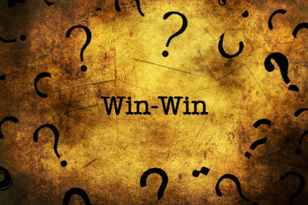 outcomes: Win concept and question marks