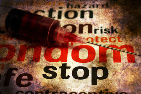 meth: Stop using drugs grunge concept