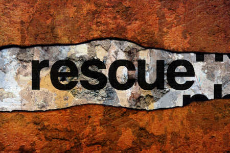 flee: Rescue text on wall