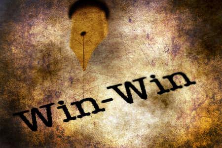 comunicación escrita: Fountain pen on win text