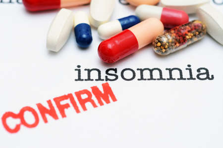 Pills on insomnia text