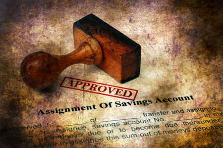 Assignment of savings account approved