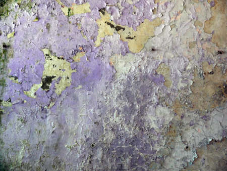 Close up of rusty wall