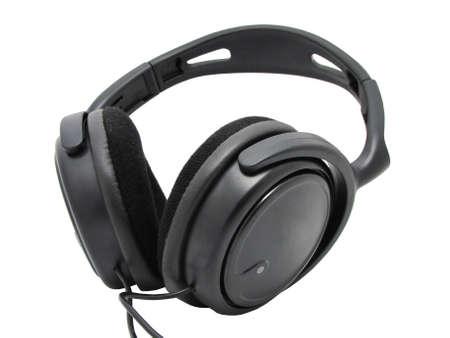 handsfree telephones: headset isolated in white