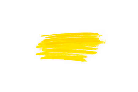 Hand drawn yellow highlighter stripes. Marker strokes background template. Optimized for one click color changes.