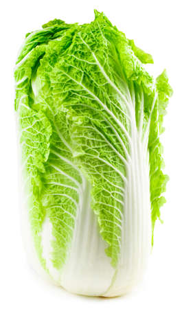 Lettuce heart on a white background. Stock Photo