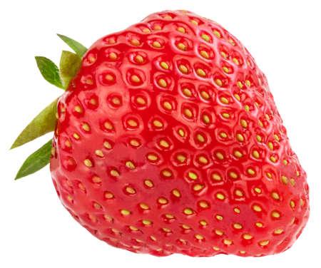 Strawberry isolated on white background. Stock Photo