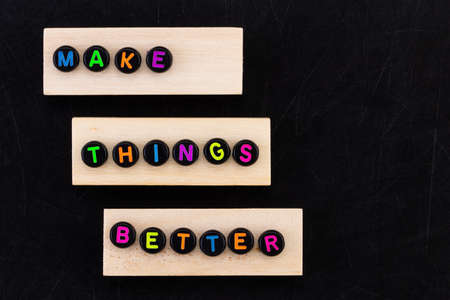Make things better - Improvement Concept.
